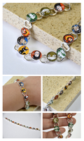 Studio Ghibli Characters on a Bracelet. by artshell