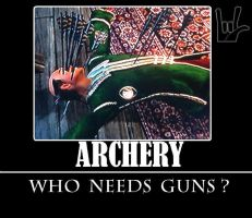 Archery, The Elder Scrolls by isuckbuthvocares