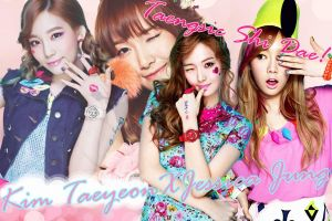 SNSD_Taesica_Edited_Picture #1 by diela123