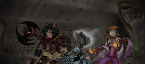 On the Verge of Assault:Collab by DemonicTiphia