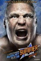 Brock Lesnar - SummerSlam 2012 Cover by Jericho4Life