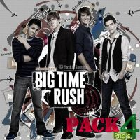 Pack 4 png Big Time Rush by AnnieSerrano