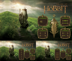HOBBIT full hd theme for rainmeter by ORTHODOXX67