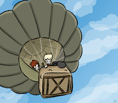 Dalek Week 2015 Day Three- Up in the Air by Shekye-Cat