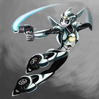 TF Prime Moonracer by Lopoddity