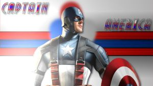 Captain America Wallpaper by The-Light-Source