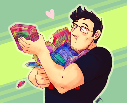 Markiplier be stealin' by Hennei