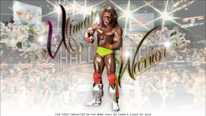 Ultimate Warrior HOF 2014 Wallpaper by T1beeties