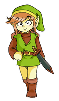 NES Link by pocket-arsenal