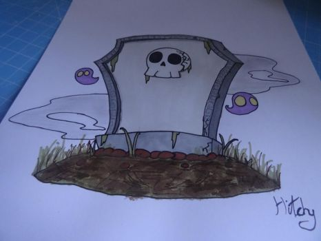 The Spooky Little Tombstone by Hitchy3