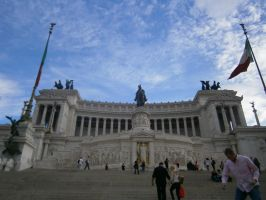 Monument of the Fallen Soldier (Rome) by BerryKiller