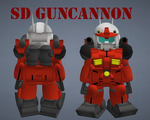 SD Guncannon by lordvipes
