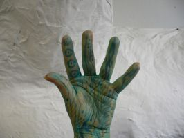 painted hand IV by ChaosStocks