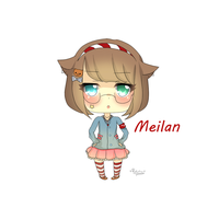 AT Meilan for Milkybon by RuRu-Rika