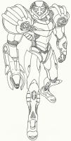 Metroid Prime: Omega Suit by DBZ2010