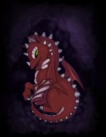 Baby red Dragon by DaHiL0
