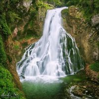 Golling Waterfall VI by Nightline