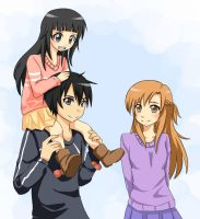 SAO - Like Family by MokonaTenshi