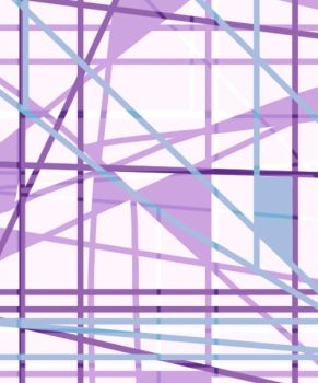 Cool Colors - Lines by LiliaLavender