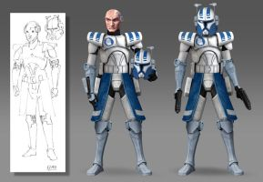 Clone Wars Season 7 - Echo LIVES (Variations) by Brian-Snook