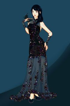 AA: Tia's Estraude Ball Outfit by D-for-Duchess