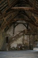 Stokesay Castle Interior 7 by OghamMoon