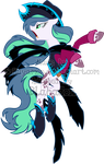 Mystery Evolving Pony Adoptables -Cowfilly Stage4- by Sakuyamon