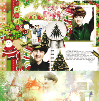 For Parkchansoo ( SuD.O wallpaper and Kyungsoo cv) by Luhye
