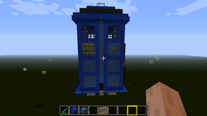 Minecraft TARDIS Amnesia Texture Pack by Americanaooni
