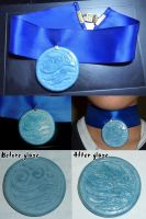 ATLA: Katara's necklace by Selofain