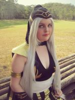 League of Legends: Ashe by EmmaBudgie