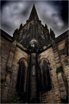 twillight church by SK8THEMONKEY