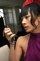 Bai Ling handheld by lowerrider