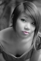 Black And White Portrait by Wykked-Good