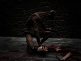 Ghoul game character render 2 by SolidAlexei