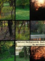 Nature Backgrounds Pack by ALP-Stock