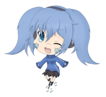 [KagePro] Ene Chibi by iRosefeather