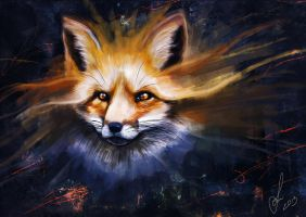 Ghost Fox by Desdy007