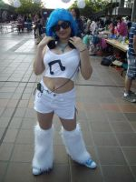 Vinyl Scratch cosplay by Zazishi