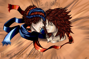 Is it okay if we hold hands? by stephie-anna