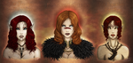 Dragon Age - Warden, Hawke and Lavellan by Barguest