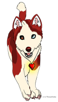 Husky pup adopt (CLOSED) by Themystichusky