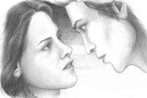 Bella and Edward by the-impressionist