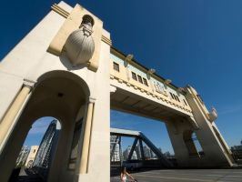 Burrard St. Bridge 3 by vanfoto