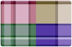 Multi colored Plaid Skin by live4ever23