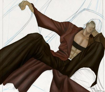 Dante relaxing by m-solano