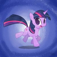 Twilight Sparkle - Colored by yiKOmega