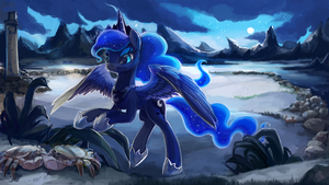 Princess Luna by The-Keyblade-Pony