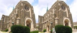 Stereograph - Church by alanbecker
