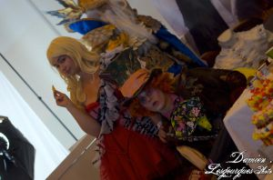 Japan Expo 2012 - The Hatter and - 9554 by dlesgourgues